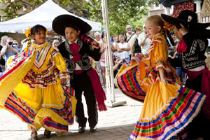 Folklorico Dancers at Fiesta del Tlaquepaque