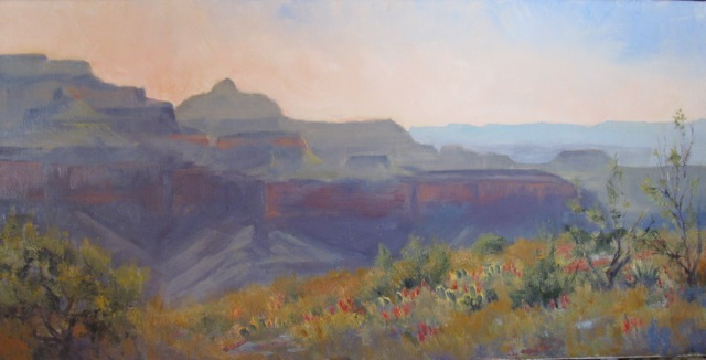 Springtime on the Tonto Plateau by Dawn Sutherland