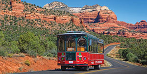 El Portal Sedona Hotel ~ Take a Trolley Tour
