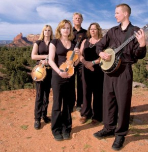 Burnett Family Bluegrass at the Sedona Bluegrass Festival