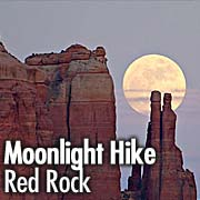El Portal Sedona Hotel : Moonlight Hikes at Red Rock State Park, Sedona AZ