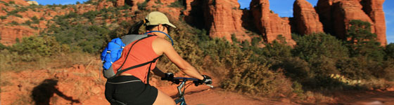 El Portal Sedona Hotel - Biking on a Trip to Sedona
