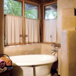 The Flat Rock Hickory Room at El Portal Sedona Hotel