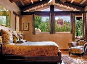 El Portal's Suite 12 - View from the bedroom