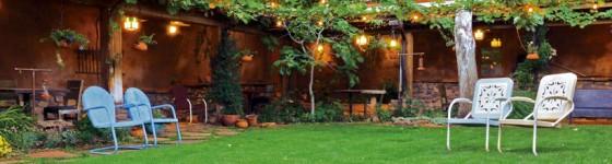 El Portal Sedona Hotel Courtyard