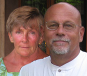 Steve & Connie Segner - Owners of a luxury hotel in Sedona