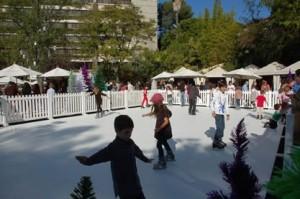 Ice Skating in Sedona