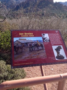 Sedona History Walk First Plaque