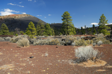 Sunset Crater at the National Monument