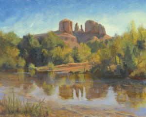 Cathedral Reflections by Dawn Sutherland