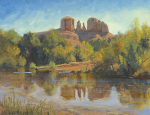 El Portal Sedona Hotel Showcases Landscape Painter Dawn Sutherland