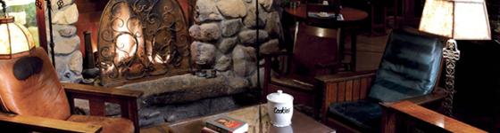 El Portal Sedona Hotel - Great Room Fireplace
