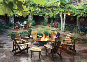 El Portal Sedona Hotel - Private Courtyard
