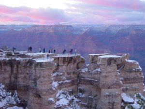 Grand Canyon in Winter - El Portal Sedona