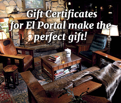 Gift Certificates for El Portal