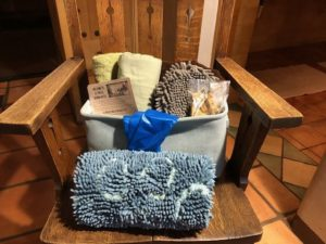 El Portal Sedona Hotel - Our Pet Friendly Welcome Basket!